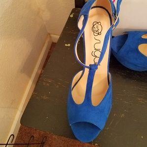 Sugar Shoes - Blue shoes